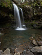 Grotto Falls, Roaring Fork, Great Smoky Mountains National Park, Tennessee